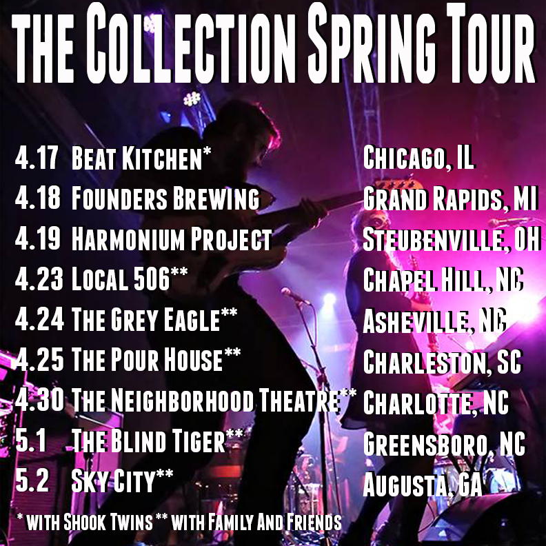 the Collection Spring Tour Poster